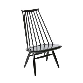 Mademoiselle Lounge Chair Sort Artek 2ROM