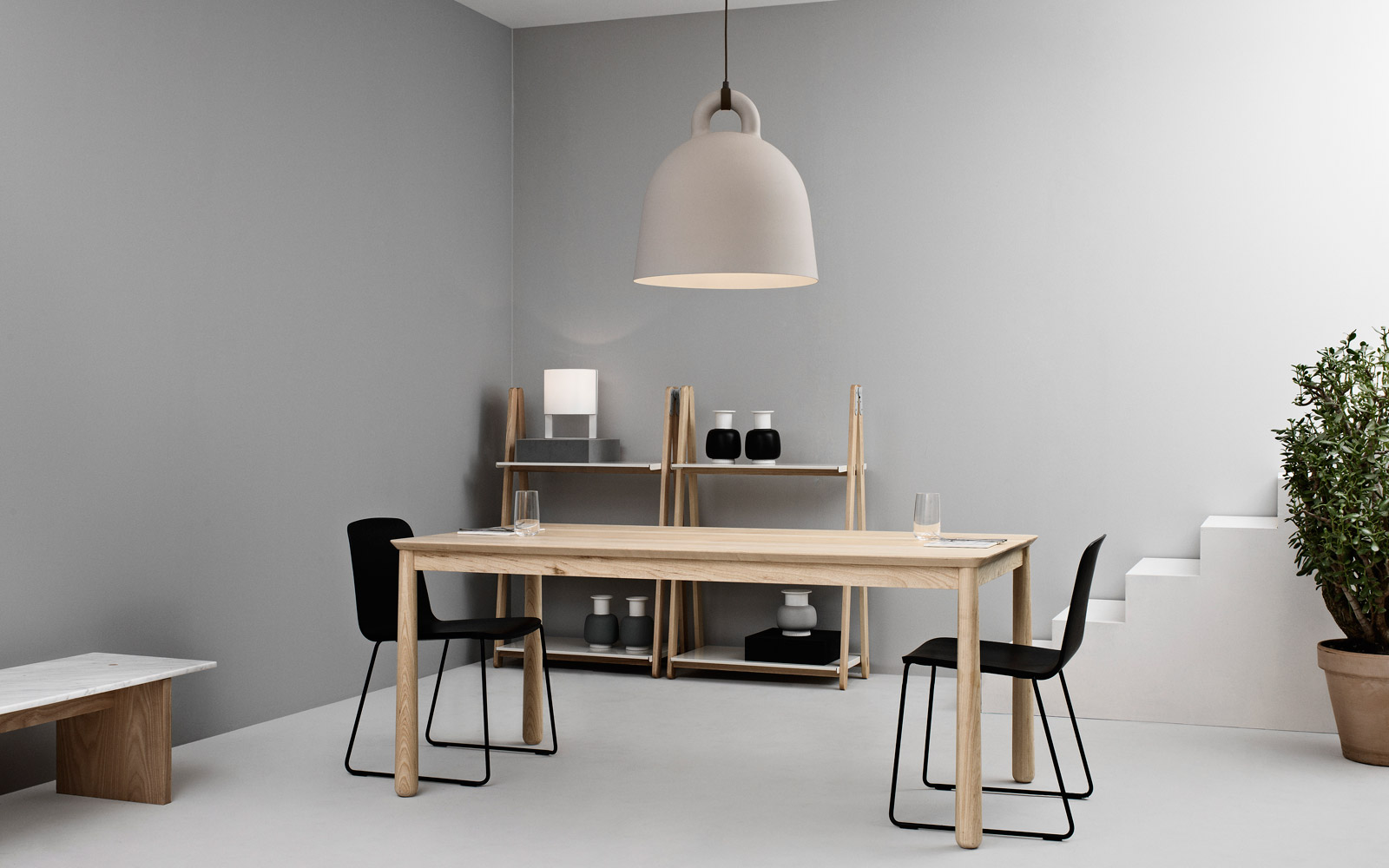 bell taklampe x small sand normann copenhagen 2rom. Black Bedroom Furniture Sets. Home Design Ideas