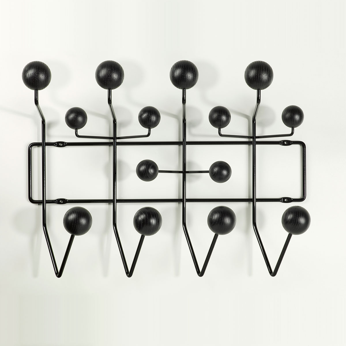 vitra hang it all knagger sort 2rom. Black Bedroom Furniture Sets. Home Design Ideas